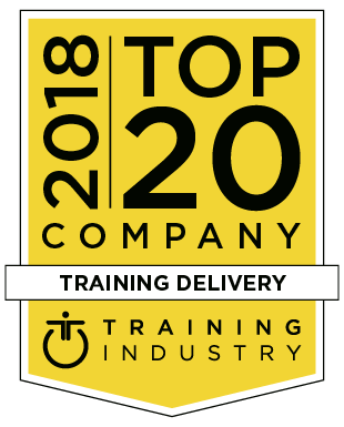2018 Training Industry Top 20 Logo