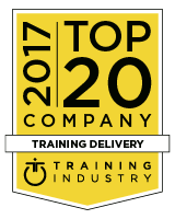 Scrimmage Named 2017 Training Industry Top 20 Training Delivery Technology
