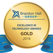 2016 Brandon Hall Group - Excellence In Technology Award