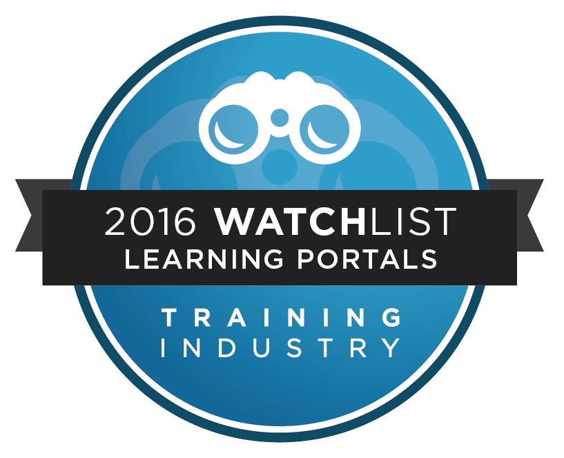 Scrimmage wins Training Industry - 2016 Learning Portal Watchlist