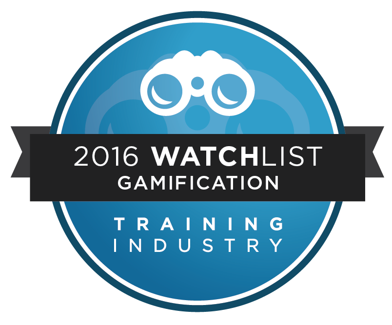 Scrimmage Wins 2016 Training Industry - Gamification Watchlist