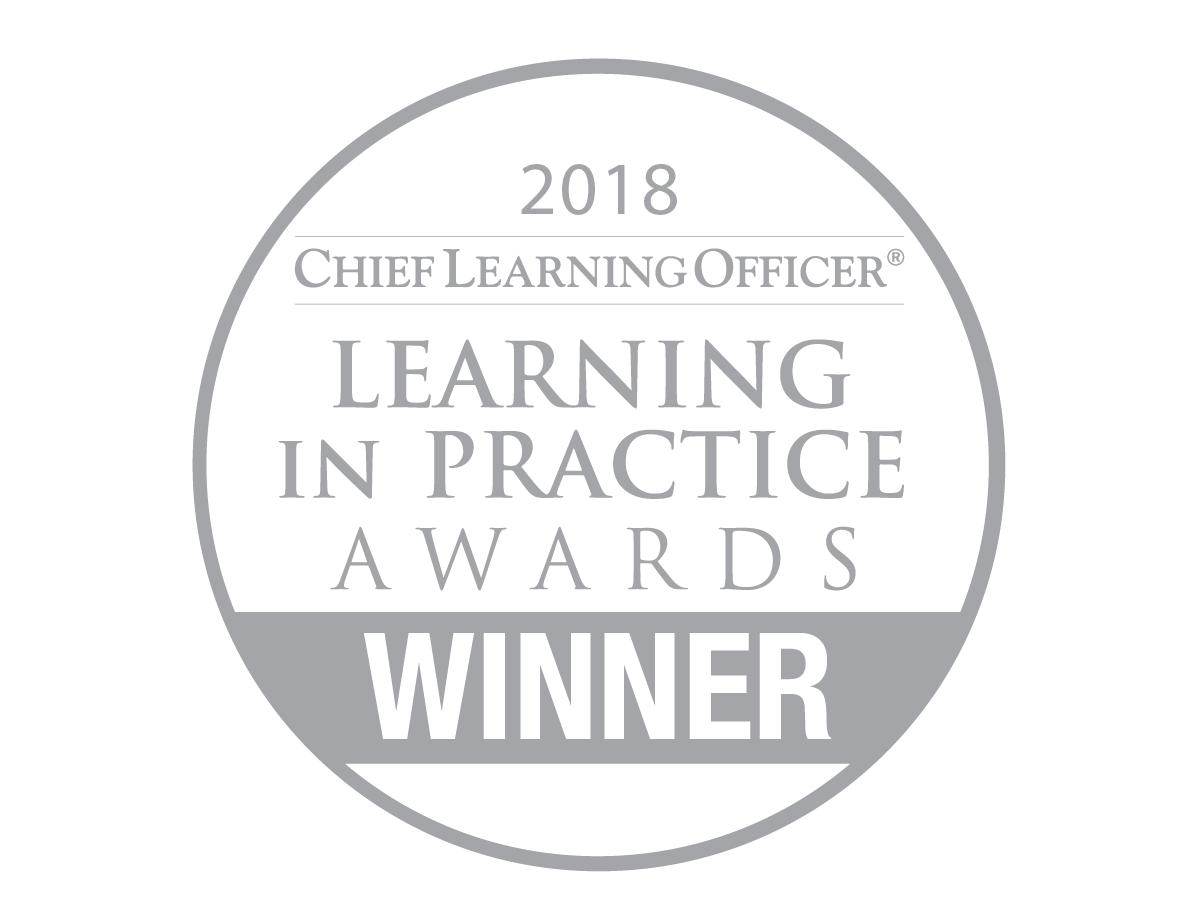 CLO Media, Learning In Practice Award, Excellence In eLearning