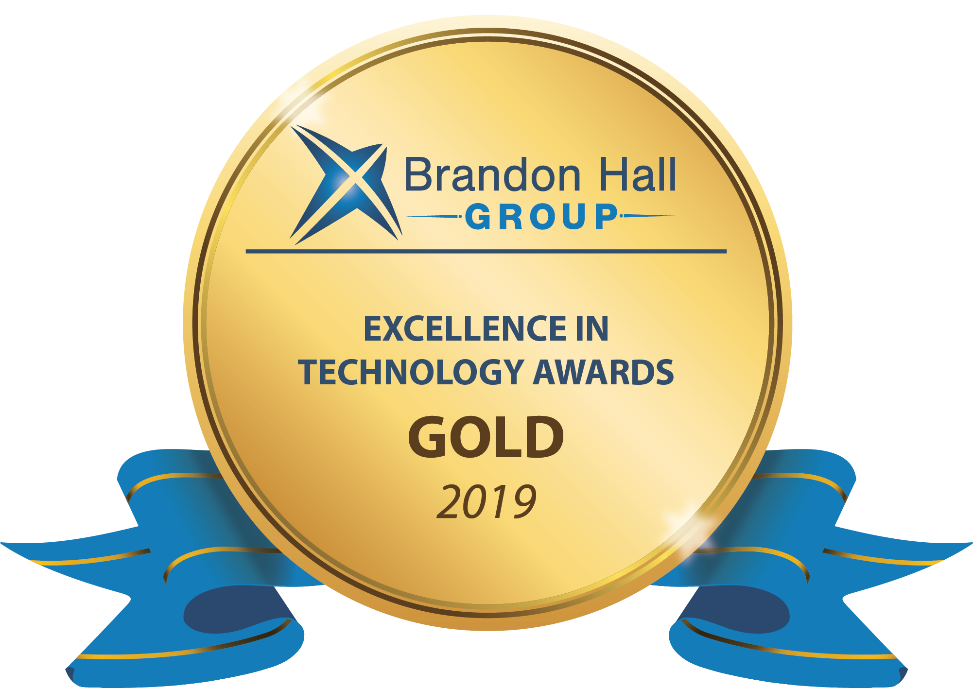 2019 GOLD Brandon Hall Group Excellence in Technology Award,  Best Advance in Mobile Sales Enablement and Performance Tools