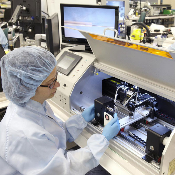Medical Device being manufactured